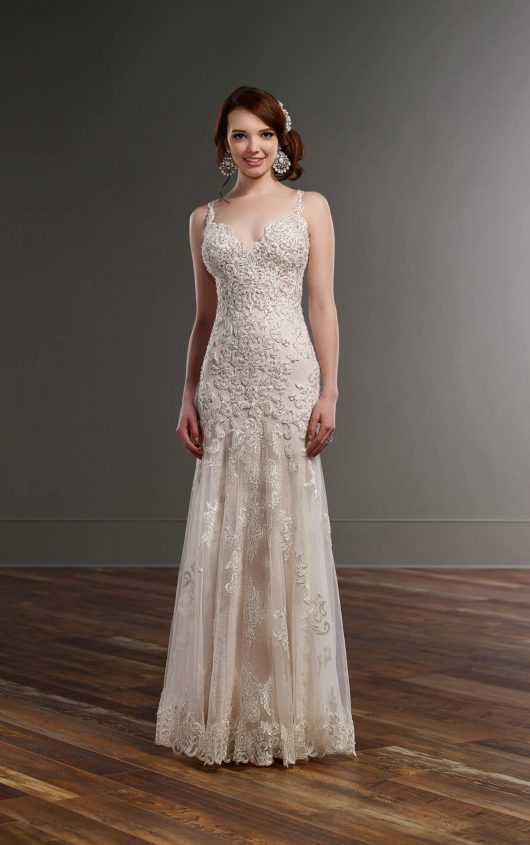 Handmade Wedding Dresses Chicago : Mira couture martina liana bridal wedding dress gown chicago