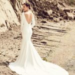 mira couture mikaella paloma blanca 2105 wedding bridal gown dress boutique chicago back