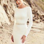 mira couture mikaella paloma blanca 2105 wedding bridal gown dress boutique chicago detail