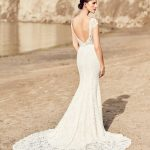 mira couture mikaella paloma blanca 2116 wedding bridal gown dress boutique chicago back