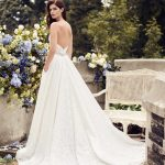 mira couture paloma blanca 4738 wedding bridal dress gown chicago boutique back