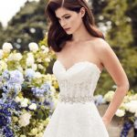 mira couture paloma blanca 4738 wedding bridal dress gown chicago boutique detail