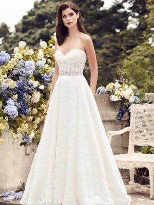 mira couture paloma blanca 4738 wedding bridal dress gown chicago boutique front
