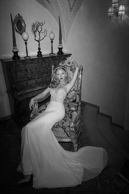 Mira Couture Netta Benshabu Kirra Wedding Bridal Dress Gown Chicago Boutique Full