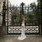 Mira Couture Netta Benshabu Sofhia Wedding Bridal Dress Gown Chicago Boutique Back Full