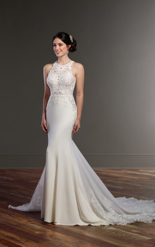 Mira Couture Martina Liana 873 Wedding Bridal Dress Gown Chicago Boutique Front Showroom