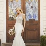 Mira Couture Martina Liana 875 Wedding Dress Bridal Gown Chicago Salon Boutique Side