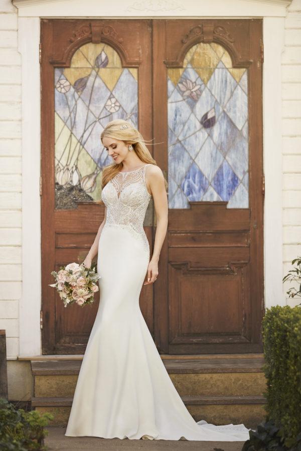 Mira Couture Martina Liana 875 Wedding Dress Bridal Gown Chicago Salon Boutique Side