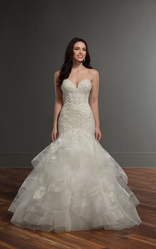 890 by martina liana for Wedding dress preservation chicago