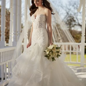 Mira Couture Martina Liana 890 Wedding Dress Bridal Gown Chicago Salon Boutique Side Full