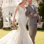 Mira Couture Martina Liana 905 Wedding Dress Bridal Gown Chicago Salon Boutique Couple