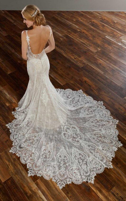 905 by martina liana for Custom made wedding dresses chicago