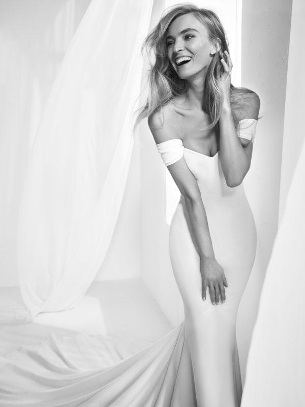 Mira Couture Atelier Pronovias Raciela Wedding Gown Bridal Dress Chicago Boutique Detail