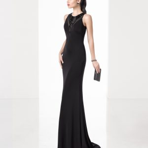 Mira Couture Rosa Clara 1T281 Evening Gown Cocktail Dress Chicago Boutique Front