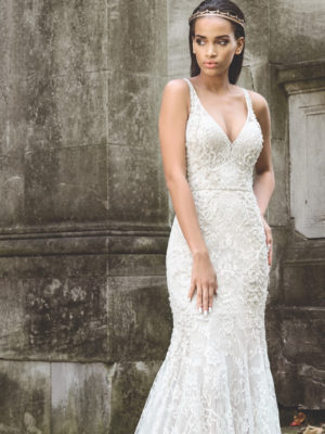 eeb78003af2 Mira Couture Justin Alexander Signature Bridal Gown Wedding Dress 9872 Chicago  Boutique Front