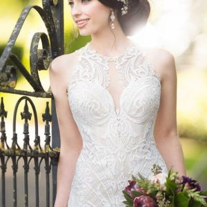 Mira Couture Martina Liana 948 Wedding Gown Bridal Dress Chicago Boutique Close Up