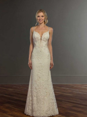 Mira Couture Martina Liana 959 Wedding Gown Bridal Dress Chicago Boutique Front Shot