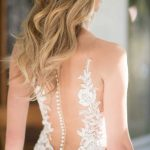 Mira Couture Martina Liana 967 Wedding Gown Bridal Dress Chicago Boutique Back Detail