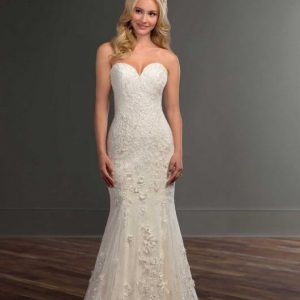 Mira Couture Martina Liana 978 Wedding Gown Bridal Dress Chicago Boutique Front