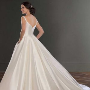 Mira Couture Martina Liana 981 Wedding Gown Bridal Dress Chicago Boutique Back