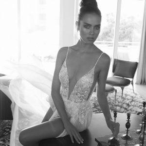 Mira Couture Elihav Sasson VJ009 Wedding Gown Bridal Dress Chicago Boutique Detail