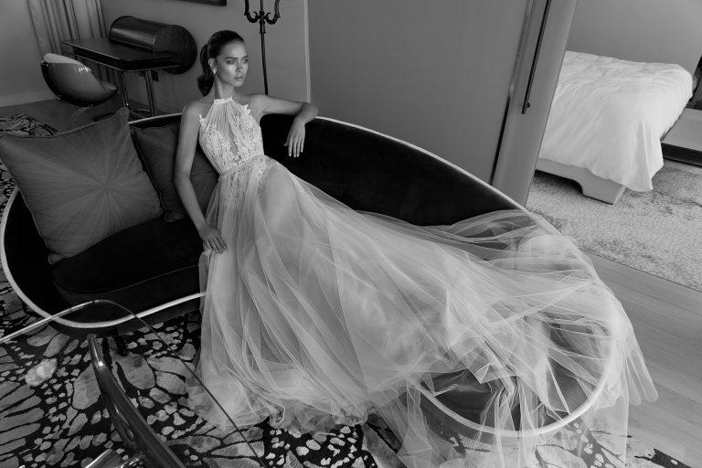 Mira Couture Elihav Sasson VJ011 Wedding Gown Bridal Dress Chicago Boutique Full