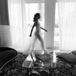 Mira Couture Elihav Sasson VJ011 Wedding Gown Bridal Dress Chicago Boutique Full Walking