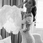 Mira Couture Elihav Sasson VJ013 Wedding Gown Bridal Dress Chicago Boutique Black and White