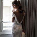Mira Couture Elihav Sasson VJ013 Wedding Gown Bridal Dress Chicago Boutique Back
