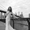 Mira Couture Flora Gabrielle Wedding Gown Bridal Dress Chicago Boutique Front