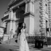 Mira Couture Flora Liv Wedding Gown Bridal Dress Chicago Boutique Full Front
