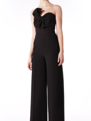 Mira Couture Lucian Matis L1807 Eveningwear Jumpsuit Chicago Boutique Front