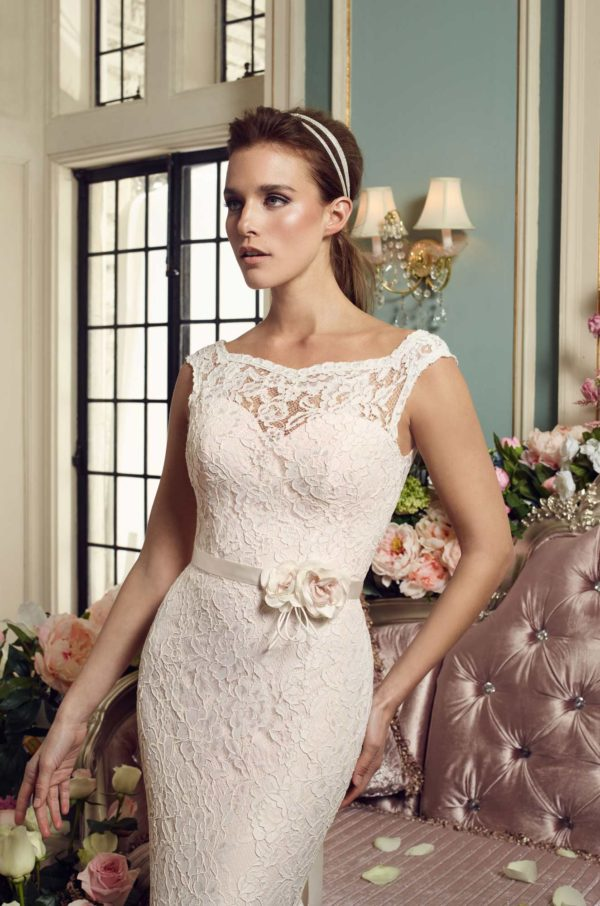 Mira Couture Mikaella 2157 Wedding Dress Bridal Gown Chicago Boutique Detail