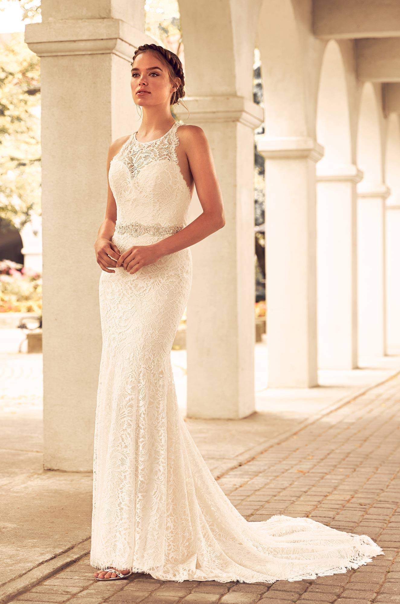 4795 by paloma blanca for Wedding dress boutiques chicago