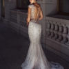 Mira Couture Stephen Yearick 14240 Wedding Dress Bridal Gown Chicago Boutique Back