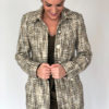 Mira Couture Chicago Boutique Custom Chanel Tweed Coat
