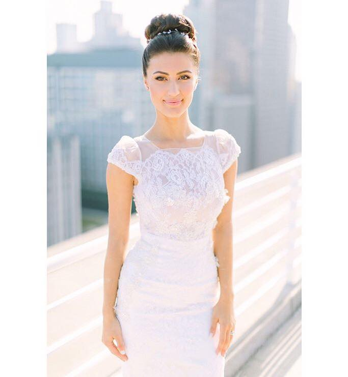 Custom Bridal Gown Chicago By Mira Couture