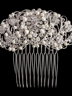 Mira Couture Erica Koesler A5328 Hair Comb Chicago Boutique