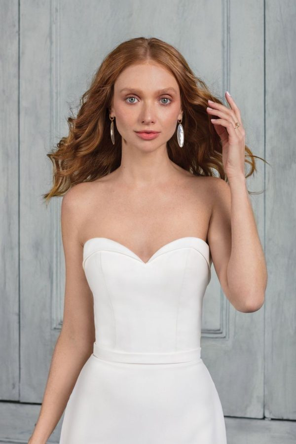 Mira Couture Justin Alexander Signature Collection 99021 Wedding Dress Bridal Gown Chicago Boutique Detail