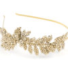 Mira Couture Justine M Couture Rose Petal Tea Headband Chicago Boutique Detail