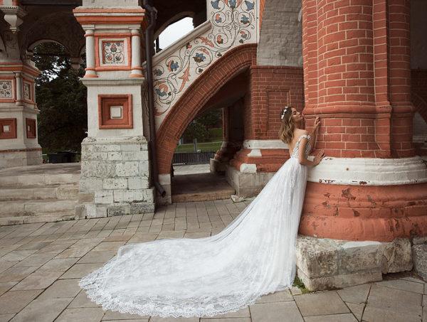 Mira Couture Neta Dover 1101618 Wedding Dress Bridal Gown Chicago Boutique Train
