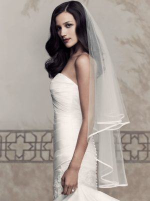 Mira Couture Paloma Blanca 434F Veil Chicago Boutique