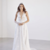 Mira Couture Suzanne Harward Divinity Bridal Gown Wedding Dress Chicago Boutique Front