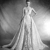 Mira Couture Atelier Pronovias Nilay Wedding Dress Bridal Gown Chicago Boutique Front