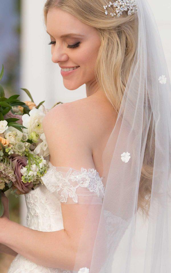 Mira Couture Martina Liana 999 Wedding Dress Bridal Gown Chicago Boutique Custom Design Back Close Detail