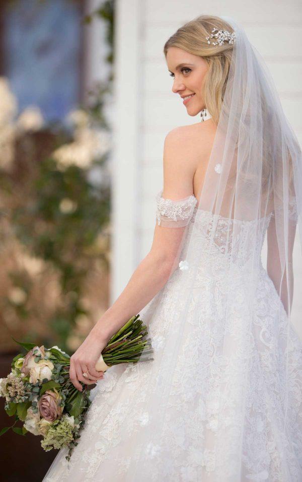 Mira Couture Martina Liana 999 Wedding Dress Bridal Gown Chicago Boutique Custom Design Back Detail