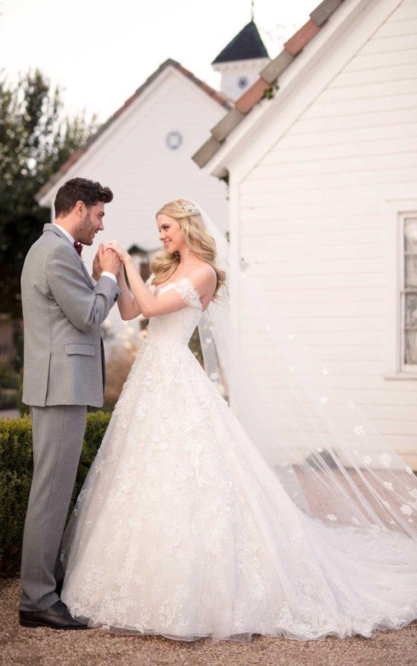 Mira Couture Martina Liana 999 Wedding Dress Bridal Gown Chicago Boutique Custom Design Side