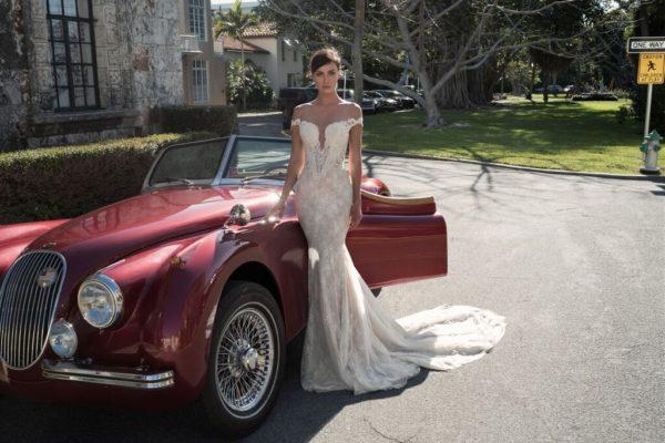 Mira Couture Netta Benshabu Israeli Designer Gemma Wedding Dress Bridal Gown Chicago Boutique Full