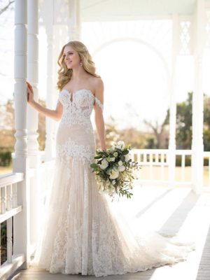 4da3f33c85 Mira Couture Martina Liana 1012 Wedding Dress Bridal Gown Chicago Boutique  Full Front