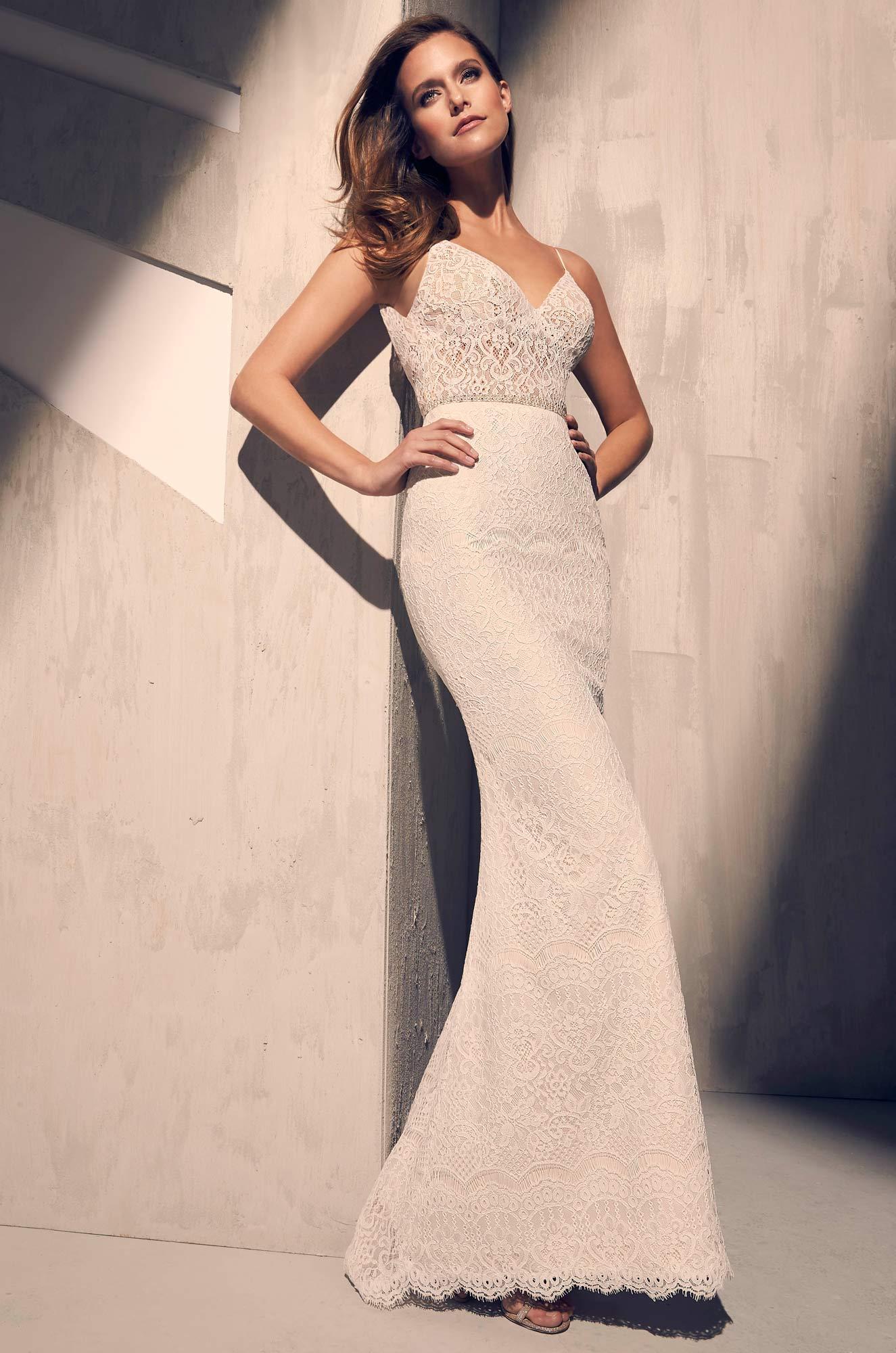 Mira Couture Mikaella 2215 Wedding Dress Bridal Gown Full